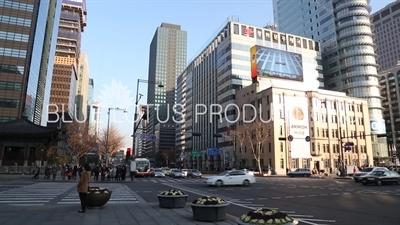 Korea Post Building on Gwanghwamun Square in Seoul