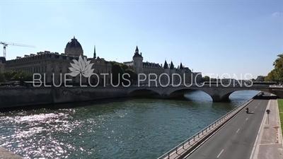 Bridge of Exchange (Pont au Change) in Paris