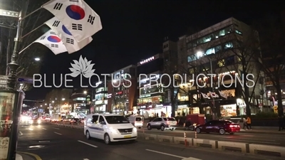 Seoul Street at Night
