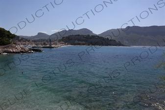 Beach in Cassis