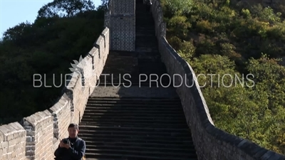 Little Jinshan Building/Tower (Xiao Jinshan Lou) on the Jinshanling Section of the Great Wall of China