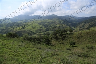 Hills around Monteverde
