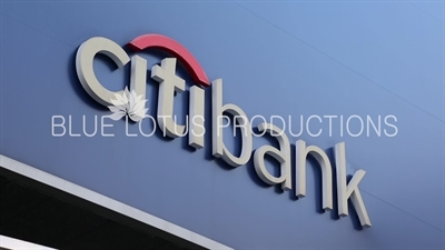 'Citibank' Sign in Seoul