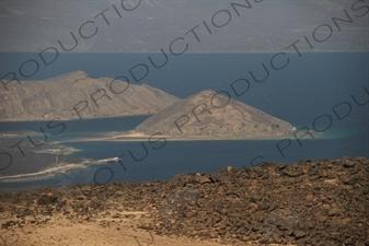 Lake Assal in Djibouti.