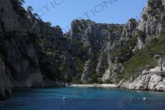 'Hidden' Beach in a Calanque near Cassis
