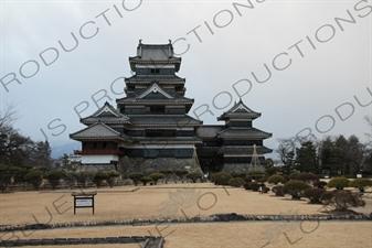 Keep (Tenshu/Tenshukaku) of Matsumoto Castle in Matsumoto
