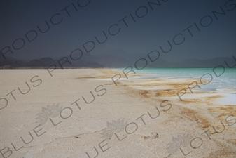 Salt Flats and Lake Assal in Djibouti