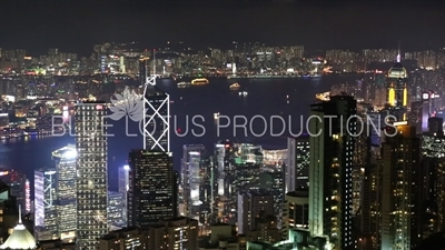 Hong Kong Island and Kowloon