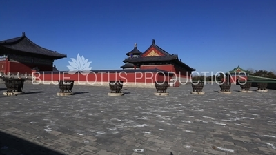 Hall of Prayer for Good Harvests (Qi Nian Dian) Compound in the Temple of Heaven in Beijing