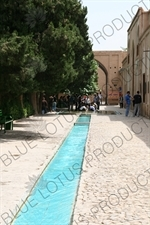 Jub (Canal) Carrying Water through the Bagh-e Fin Garden in Kashan