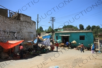 Street Vendors in the Old City of Harar