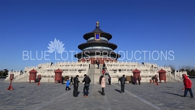 Hall of Prayer for Good Harvests (Qi Nian Dian) in the Temple of Heaven in Beijing