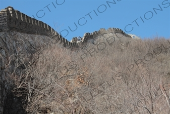Mutianyu Section of the Great Wall of China (Wanli Changcheng) near Beijing