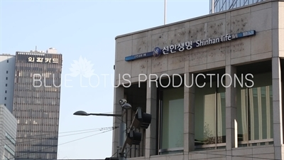 'Shinhan Life' Sign in Seoul