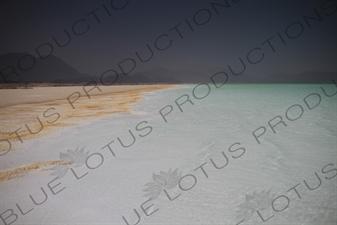 Salt Flat and Lake Assal in Djibouti