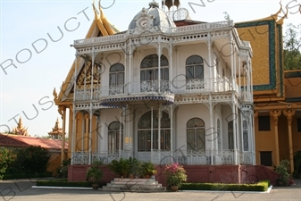 French Style Pavilion at the Royal Palace in Phnom Penh