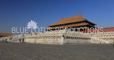 Hall of Supreme Harmony (Taihe Dian) in the Forbidden City in Beijing