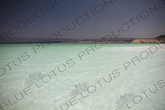 Lake Assal in Djibouti
