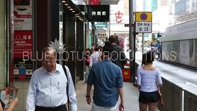 Hong Kong Li Yuen Street