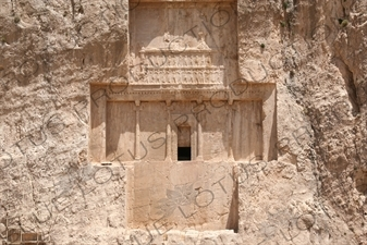 Tomb of Darius the Great at Naqsh-e Rustam