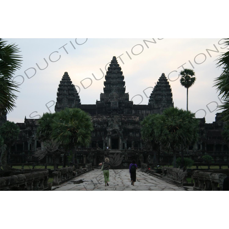 Entrance to Angkor Wat