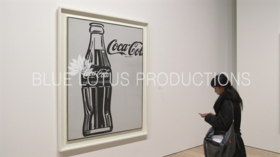 'Coca-Cola [3]' on Display in the 'Andy Warhol - From A to B and Back Again' Exhibition at the Whitney in New York City