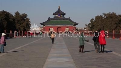 Danbi Bridge in the Temple of Heaven in Beijing