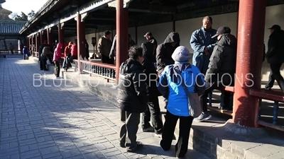 Long Corridor (Chang Lang) in the Temple of Heaven in Beijing