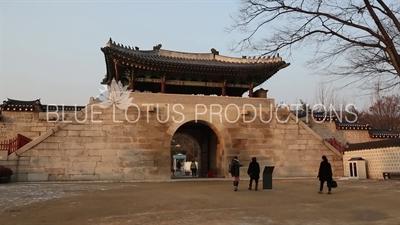 Sinmu Gate (Sinmumun) at Gyeongbok Palace (Gyeongbokgung) in Seoul