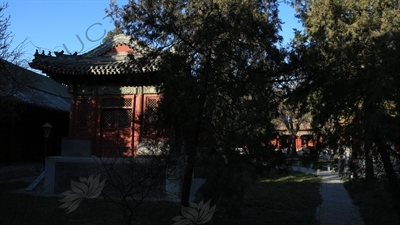 Pavilion in the Grounds of the Imperial College (Guozijian) in Beijing