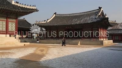Yeonsaeng Hall (Yeonsaengjeon) at Gyeongbok Palace (Gyeongbokgung) in Seoul