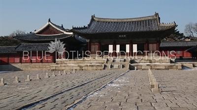 Myeongjeong Hall (Myeongjeongjeon) at Changgyeong Palace (Changgyeonggung) in Seoul