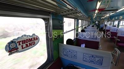 'Thomas the Tank Engine'/'Thomas and Friends' Train Travelling to Tokyo from Fujiyoshida