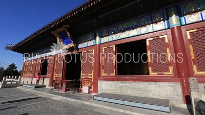 Imperial Hall of Heaven (Huang Qian Dian) in the Temple of Heaven in Beijing