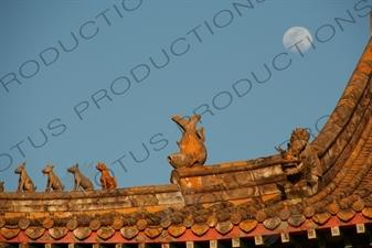 Po Lin Monastery on Lantau in Hong Kong