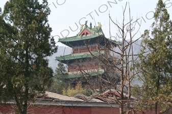 Drum Tower at the Shaolin Temple in Dengfeng