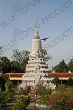 King Ang Duong's Stupa at the Royal Palace in Phnom Penh