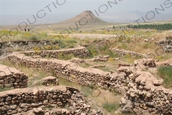 Ruined Buildings at Takht-e Soleyman