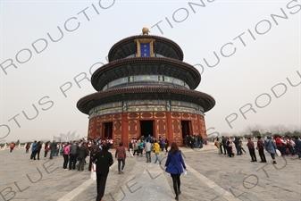 Hall of Prayer for Good Harvests (Qi Nian Dian) in the Temple of Heaven (Tiantan) in Beijing