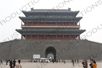 Qianmen/Zhengyangmen Gatehouse in Beijing