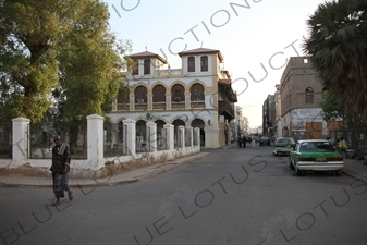 French Colonial Building in Djibouti City