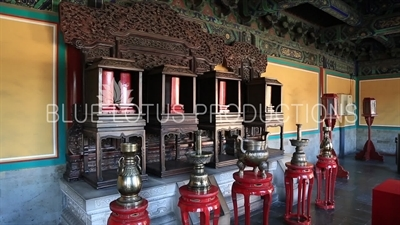 West Annex Hall of the Imperial Vault of Heaven (Huang Qiong Yu) in the Temple of Heaven in Beijing