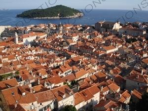 Otok Lokrum in Dubrovnik